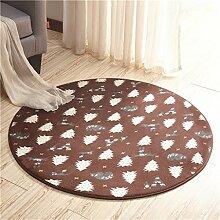 Teppich Klassischer Teppich Wohnzimmer Decke Sofa Couchtisch Teppich Nachttuch Kinderzimmer Teppich Kurzes Haar ( größe : 80*80cm )