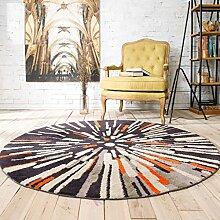 Teppich Klassischer Teppich Wohnzimmer Decke Sofa Couchtisch Teppich Nachttuch Kinderzimmer Matte ( größe : 120*120cm )