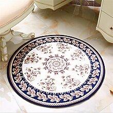 Teppich Klassischer Teppich Wohnzimmer Decke Sofa Couchtisch Teppich Nachttuch Kinderzimmer Teppich Kurzes Haar ( größe : 100*100cm )