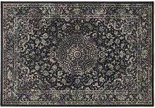Teppich Kollektion Sitap Teppich Persischer orientalischen Motiv Klassisch Grau Antares 57109–3636 Cm.200x290 anthrazi