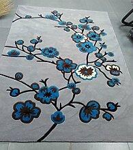 Teppich Kreative Mode Wohnzimmer Schlafzimmer Sofa Couchtisch Bedside Rectangle Anti-Rutsch-Teppich ( größe : 1.2*1.7m )