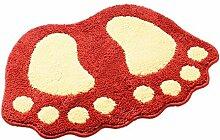 Teppich Küche Bad Tür Saugfähigen rutschfeste Matten Fußmatte Badematte Badezimmer Schlafzimmer Teppich Treppen (40 × 60 cm, 48 × 67 cm, 58 × 88 cm) ( größe : 58cm×88cm )