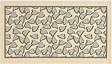 Teppich Küche mit Rückseite rutschfest Typ Sweet 55x280 cm elfenbein