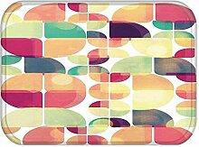 Teppich küche wohnzimmer bad matten dekoration rutschfeste türmatte , 004