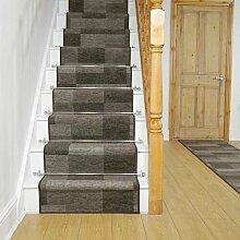 Teppich Kulpmont für Treppen in Braun