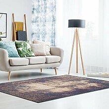 Teppich Kurzflor modern mit Jacquard Muster im