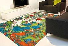 Teppich Kurzflorteppich Mit Modernem Design Multi
