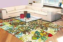 Teppich Kurzflorteppich Mit Stilvollem Muster