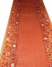Teppich Läufer auf Maß Terrakotta 644 Flur lfm. 11,90 Euro Breite 60 x 560 cm
