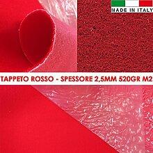 Teppich Läufer Magic rot mit Displayschutzfolie