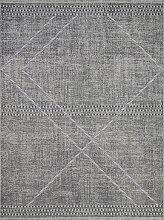 Teppich-Läufer Maroc grey, 80x300cm, dunkelgrau,
