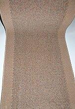 Teppich Läufer Meterware rutschfest Stufenmatten Beige lfm. 37,90 Euro Breite 120 x 600 cm