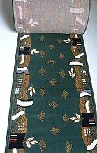 Teppich Läufer nach Maß Grün 2183 lfm. 11,90 Euro Breite 60 x 160 cm
