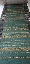 Teppich Läufer nach Maß Grün 8230 lfm. 19,90 Euro Breite 100 x 100 cm