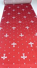 Teppich Läufer nach Maß Rot 1089 lfm. 16,90 Euro Breite 100 x 320 cm