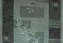 Teppich Läufer Schlinge Brücke Rumba Blumen Blau