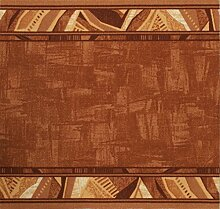 Teppich Läufer Schlinge Läufer Schlinge Rumba Klassik Terrakotta in 20 Größen