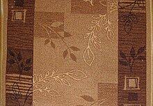 Teppich Läufer Schlinge Rumba Blumen Karamell in