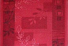 Teppich Läufer Schlinge Rumba Blumen Rot in 20