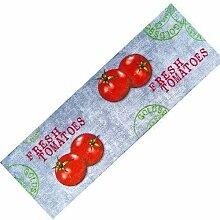 Teppich-Läufer Waschbar Rutschfest | Tomaten