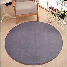 Teppich Leichter runder Teppich für Esszimmer,