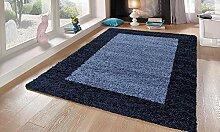 Teppich Life Shaggy blau 80x 150cm
