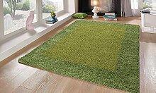 Teppich Life Shaggy grün 80x 150