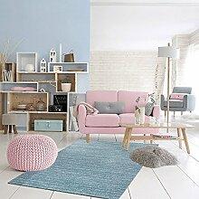 Teppich Lisa Schneeflocke Blau 120x 170cm