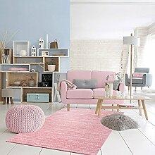 Teppich Lisa Schneeflocke Rosa 80x 150cm