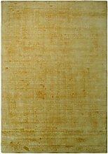 Teppich Luxury 110 Gelb 160cm x 230cm Handgewebter