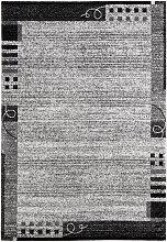 Teppich Lynn, grau (120/170 cm)