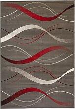 Teppich Lyon, grau (60/110 cm)
