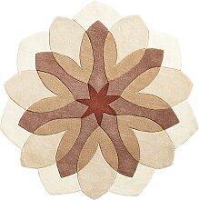 Teppich Mariella, braun (Ø 160 cm)