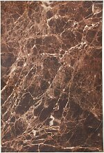 Teppich Marmor, braun (57/110 cm)