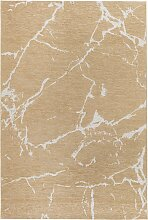 Teppich Marmor, braun (60/110 cm)