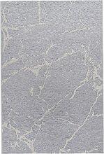 Teppich Marmor, grau (60/110 cm)