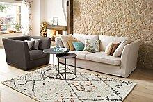 Teppich Marokko 832Creme 120x 170cm