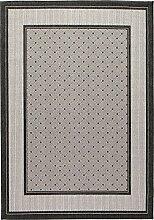 Teppich maschinengewebt anthrazit Größe 60x110 cm