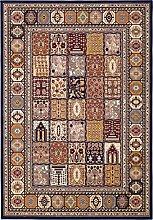 Teppich maschinengewebt blau Größe 160x230 cm