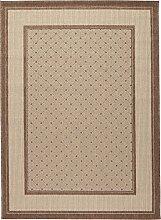 Teppich maschinengewebt braun Größe 160x230 cm