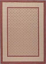 Teppich maschinengewebt terra Größe 160x230 cm