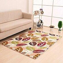 Teppich Matratze Korridor Drucken Teppich Wohnzimmer Schlafzimmer Couchtisch Schwimmende Fenster Teppich Flanell Teppich kann angepasst werden Gelbe Füße 140 * 200cm Wohnzimmer Schlafzimmer Teppich ( farbe : A1 , größe : 50*80cm )