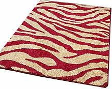 Teppich Mats Fußabtreter Salon Schlafzimmer Teppich Tür nach Hause Matte Moderne einfach kontinental Bettseite Teppich Streifenmuster ( farbe : #1 , größe : 120*200cm )