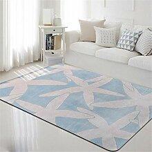 Teppich mediterranen Stil Wohnzimmer größere