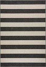 Teppich Melina, grau (60/110 cm)