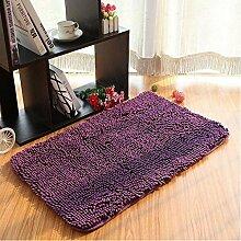 Teppich Microfaser Wohnzimmer Venture Schlafzimmer Terrasse Schwimmende Fenster Bedside Matratze Tür Pad Teppich ( farbe : A1 , größe : 50*80cm )