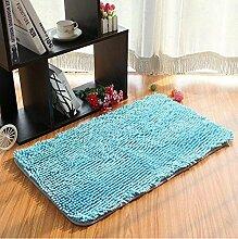 Teppich Microfaser Wohnzimmer Venture Schlafzimmer Terrasse Schwimmende Fenster Bedside Matratze Tür Pad Teppich ( farbe : A1 , größe : 70*140cm )