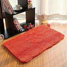 Teppich Microfaser Wohnzimmer Venture Schlafzimmer Terrasse Schwimmende Fenster Bedside Matratze Tür Pad Teppich ( farbe : A4 , größe : 50*80cm )
