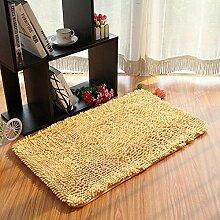 Teppich Microfaser Wohnzimmer Venture Schlafzimmer Terrasse Schwimmende Fenster Bedside Matratze Tür Pad Teppich ( farbe : A3 , größe : 50*80cm )
