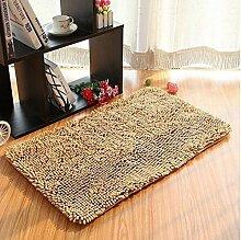 Teppich Microfaser Wohnzimmer Venture Schlafzimmer Terrasse Schwimmende Fenster Bedside Matratze Tür Pad Teppich ( farbe : A6 , größe : 70*140cm )